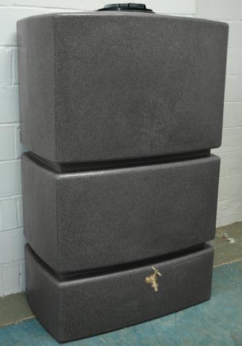 1275L Water Butt in Millstone Grit