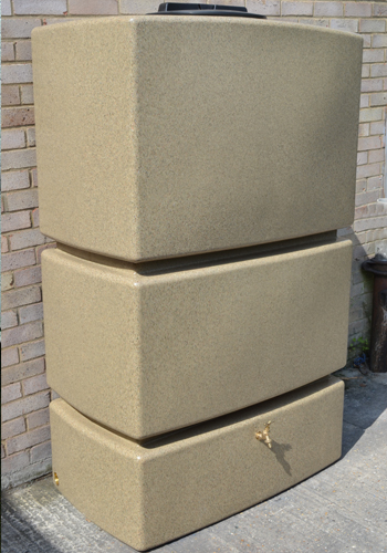 1275L Water Butt in Sandstone