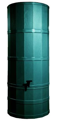 200L Polybutt Water Butt - Green