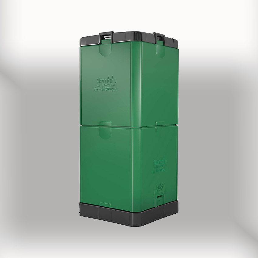 200L Aerobin Hot Composter - Brunswick Green