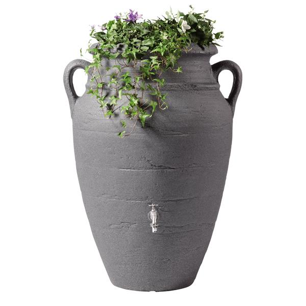 250L Antique Amphora Water Butt in Granite