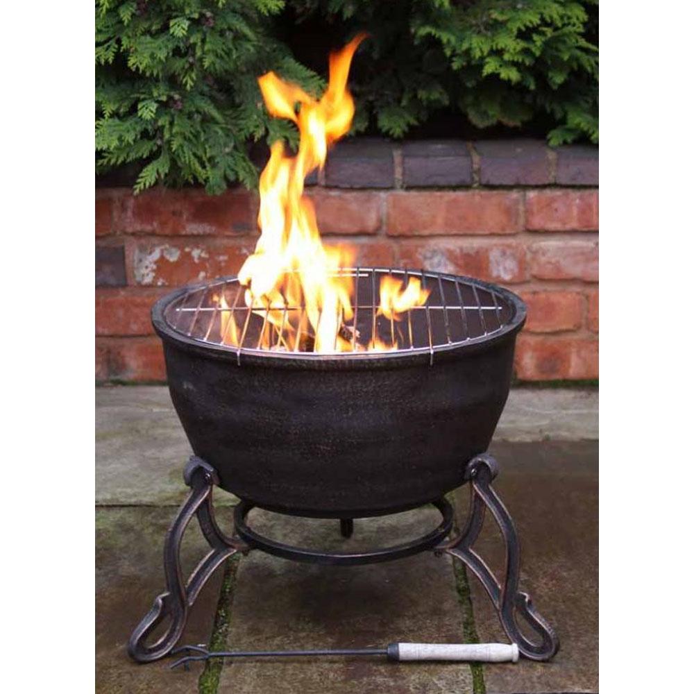 Elidir Cast Iron Fire Bowl ...