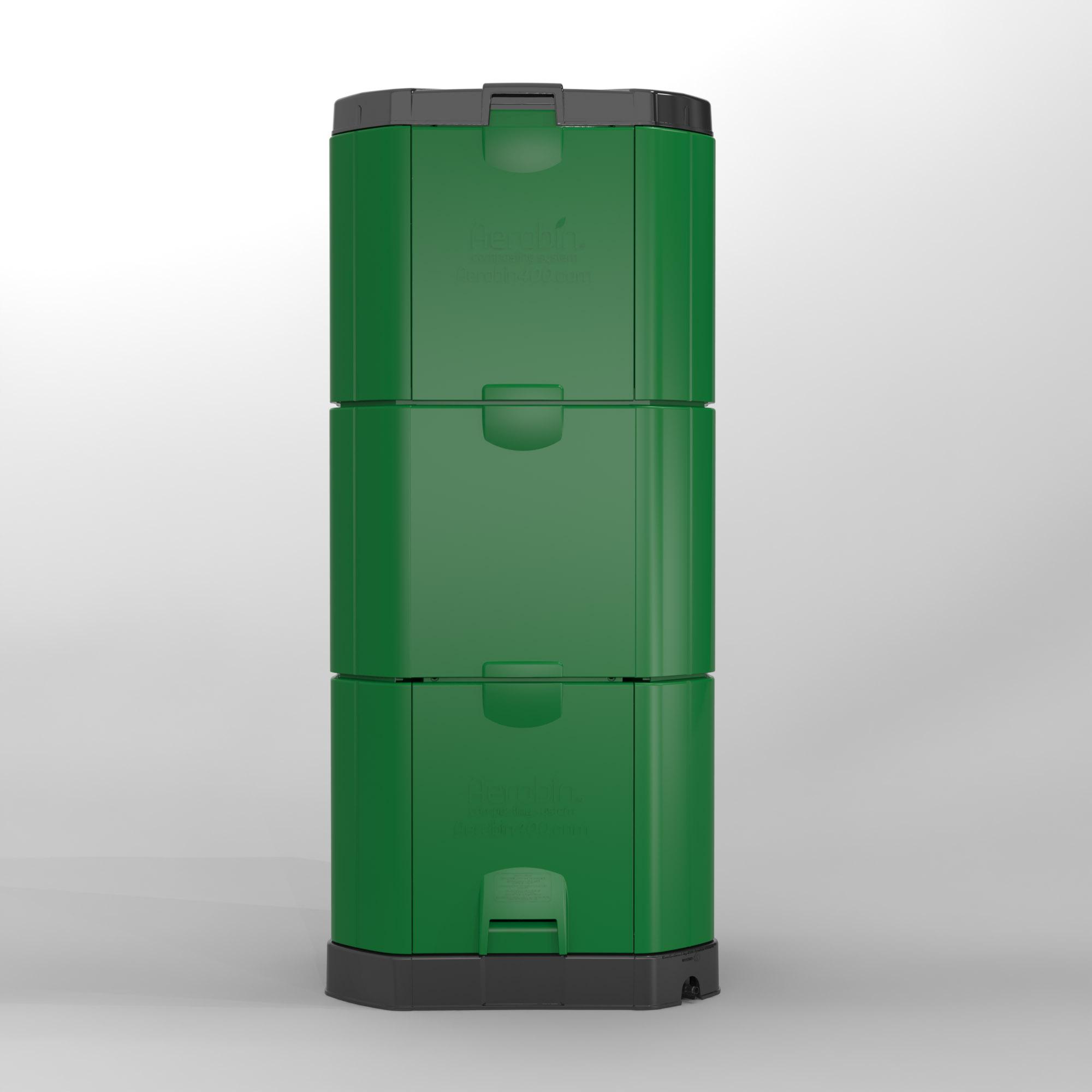 600L Aerobin Hot Composter - Brunswick Green