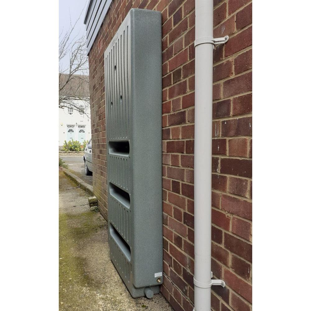 Ultra Slim Wall Secured Garden Tank 235L