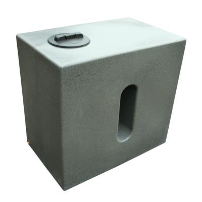 500L Cube Rainwater Tank in Millstone Grit