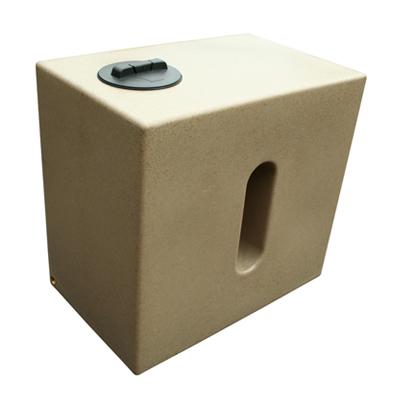 500L Cube Rainwater Tank in Sandstone