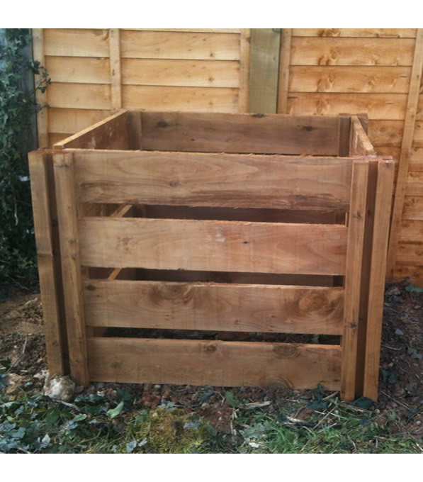 600 Blackdown Range Single Slotted Wooden Composter