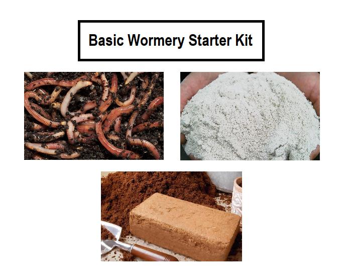 Basic Wormery Starter Kit