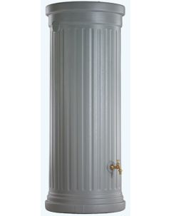 1000L Column Water Tank - Stone Grey