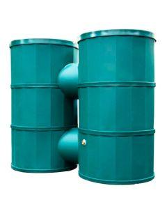 1200L Doublo Polytank Water Tank - Green