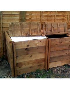 800 Blackdown Range Double Deluxe Standard Wooden Composter