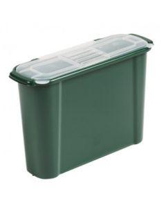 10L Slimline Waste Caddy (Green)