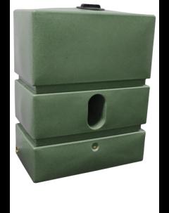 1200L Pillar Rainwater Tank in Green Marble