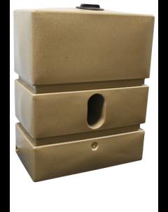 1200L Pillar Rainwater Tank in Sandstone