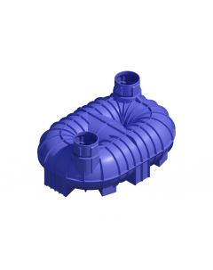 8,400L Twin Neck Non-Potable Underground Tank (Bare Tank Only)