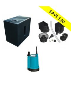 500L Rainwater Harvesting Package