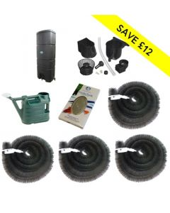 160L Wallmounted Single Rainwater Harvesting Kit