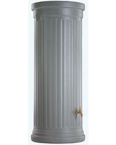 1000L Column Water Tank - Stone Grey