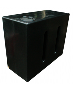 Marble Effect 1050 Litre Rainwater Tank in Black