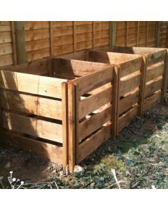 1150 Blackdown Range Triple Slotted Wooden Composter