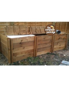 1900 Blackdown Range Triple Deluxe Standard Wooden Composter