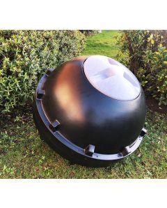 315L CompoSphere Rollable Tumbler Composter Black