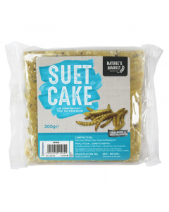 300g Suet Cake with Mealworms