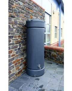 300L Georgian Pillar Water Tank Column - Charcoal