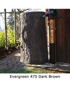 475L Evergreen Tree Trunk Water Butt