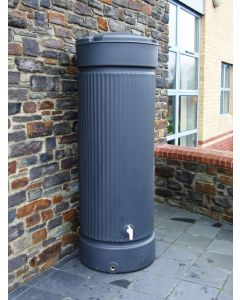 500L Georgian Pillar Water Tank Column - Charcoal