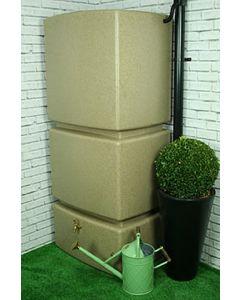 800 Litre Vertical Slim Line Rainwater Tank in Sandstone
