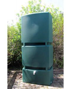 800L Wall Tank - Green