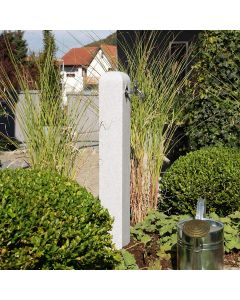 Original Garden Watering Post in Granite
