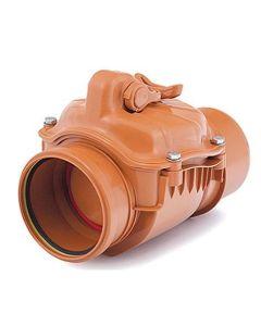 Backflow non-return valve