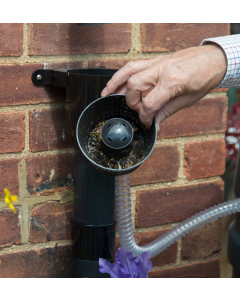 Filter Basket for Gutter Mate for Filter and Diverter - in use
