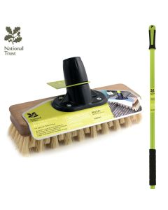 "National Trust 9"" FSC Dexter Moss Busting Deck Broom FSC Wood"