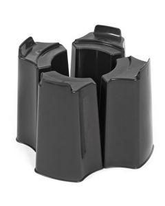 Black 4 Piece Water Butt Stand