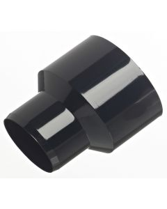Black Reducer for the Gutter Mate Diverter & Filter