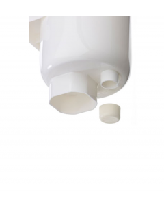 White Blanking Cap for GutterMate - Available in Black and White