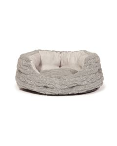 Danish Design Large Bobble Pewter Deluxe Slumber Bed