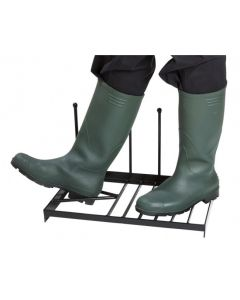 Boot Scraper with Boot Pull & Holder