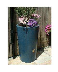 180L Garden Planter Water Butt Blue Stone