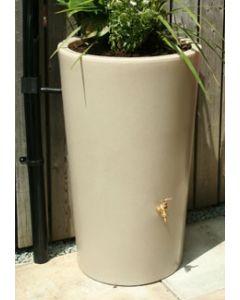 180L Garden Planter Water Butt Antique Stone