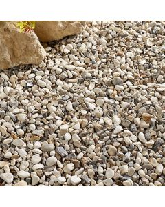 Kelkay Cottage Cream Decorative Aggregate, Bulk Bag