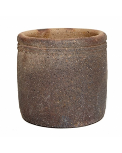 Old Ironstone Cylinder Planter 57cm