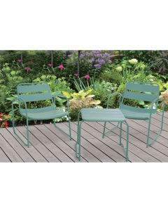 Garden Furniture Set of 3 - Green