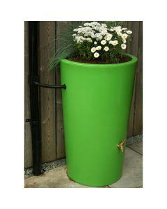 180L Garden Planter Water Butt Green