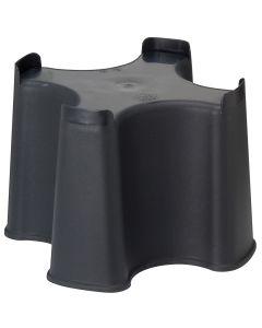Black Slim Line Water Butt Stand
