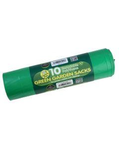Green Garden Sacks 70L (10 Per Roll)