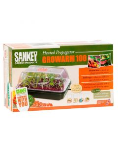Growarm 100 Heated Propagator Kit 38cm